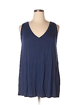 Lane Bryant Sleeveless T-Shirt Size 14 - 16 Plus (Plus)