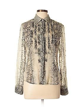 Elliott Lauren Long Sleeve Button-Down Shirt Size 8