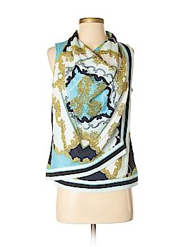 New York & Company Sleeveless Button-Down Shirt Size XS