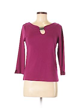 Rafaella 3/4 Sleeve T-Shirt Size M