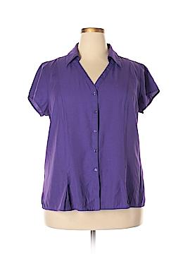 Cato Short Sleeve Blouse Size 18 (Plus)