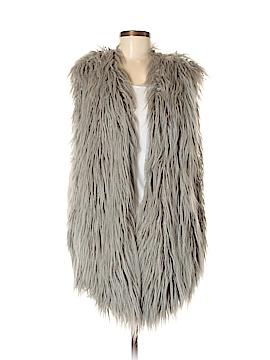 Donna Salyers' Fabulous Furs Faux Fur Vest Size M
