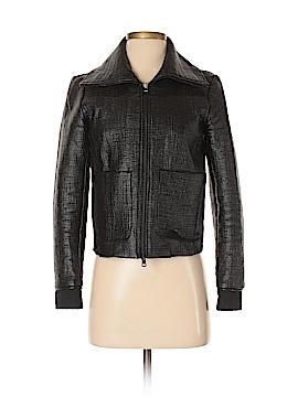 Armani Exchange Faux Leather Jacket Size S