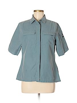 Helly Hansen Short Sleeve Button-Down Shirt Size M