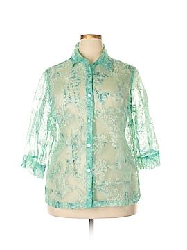 Mirasol 3/4 Sleeve Blouse Size 1X (Plus)