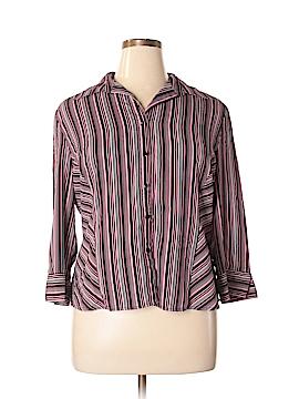 Fred David Long Sleeve Blouse Size XL