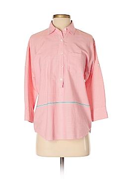 J. Crew 3/4 Sleeve Button-Down Shirt Size 4