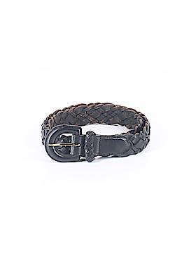 Lands' End Leather Belt 28 Waist
