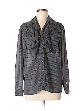 Rafaella Long Sleeve Blouse Size 6