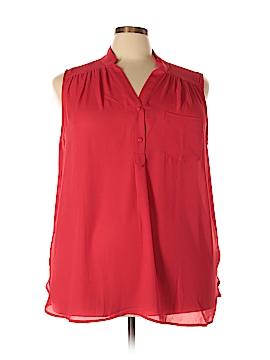 Myrtlewood Sleeveless Blouse Size 3X (Plus)