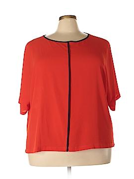 M&S Short Sleeve Blouse Size 52 (EU) (Plus)