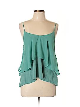 Sparkle & Fade Sleeveless Blouse Size L