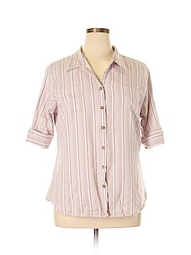 Cabela's Short Sleeve Button-Down Shirt Size 2X (Plus)