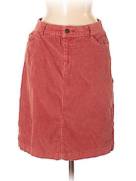 St. John's Bay Denim Skirt Size 6