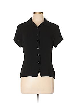 Jones New York Short Sleeve Button-Down Shirt Size 10