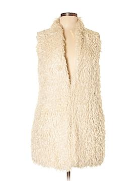 Hei Hei Faux Fur Vest Size S