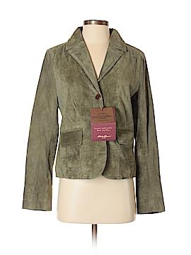 Eddie Bauer Leather Jacket Size S (Petite)