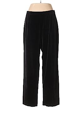 Villager Sport by Liz Claiborne Velour Pants Size 1X (Plus)