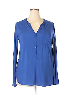 Merona Long Sleeve Blouse Size XL