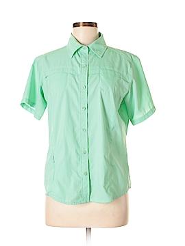 Magellan Sportswear Short Sleeve Button-Down Shirt Size M
