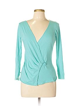 Velvet Long Sleeve Top Size L