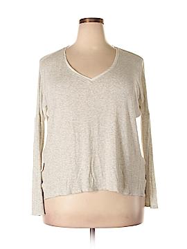 Bordeaux Long Sleeve T-Shirt Size XL