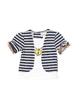 Little Lass Short Sleeve Top Size 12 mo