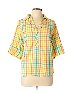 Cathy Daniels Short Sleeve Button-Down Shirt Size XL