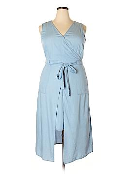 Modamix By Brandon Thomas Casual Dress Size 14 (Plus)