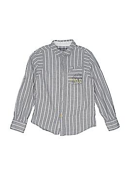Guess Long Sleeve Button-Down Shirt Size 10