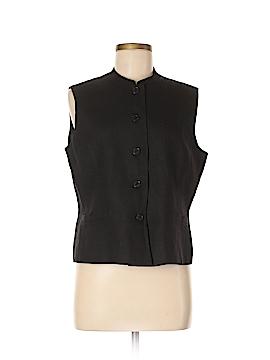 Talbots Tuxedo Vest Size 12