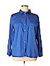 Jaclyn Smith Women Long Sleeve Button-Down Shirt Size XL