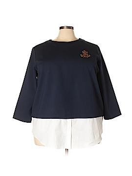 Lauren by Ralph Lauren 3/4 Sleeve Top Size 3X (Plus)