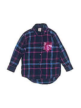 Arizona Jean Company Long Sleeve Button-Down Shirt Size 5