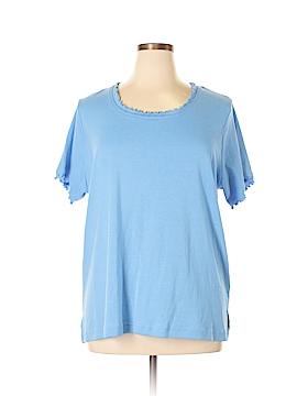 Carolyn Taylor Short Sleeve T-Shirt Size 2X (Plus)