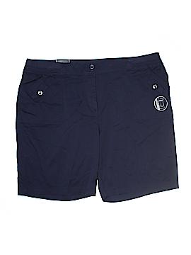 Karen Scott Khaki Shorts Size 22 (Plus)