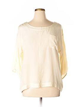 Sanctuary 3/4 Sleeve Silk Top Size L