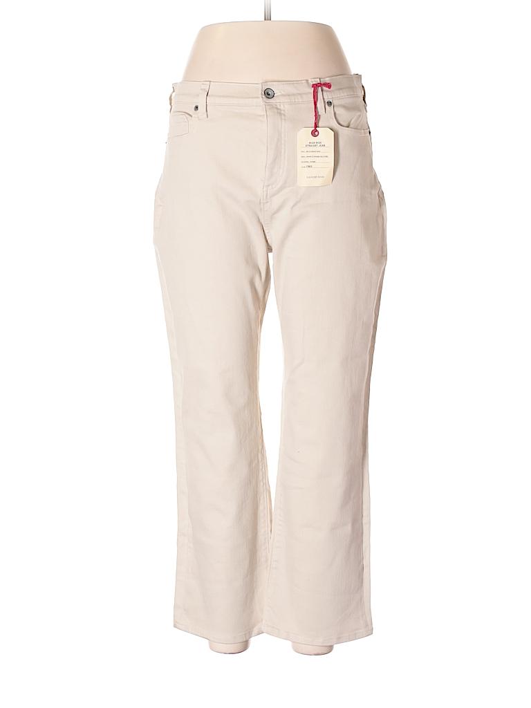 Lands' End Women Jeans Size 14 (Petite)
