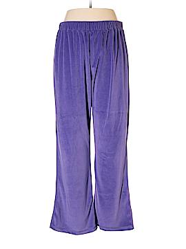 Roaman's Velour Pants Size L