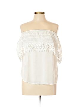 Socialite Short Sleeve Top Size L