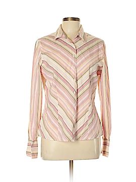 Sag Harbor Long Sleeve Button-Down Shirt Size 12