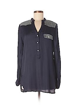 Fun2Fun Long Sleeve Button-Down Shirt Size M