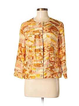 Pendleton Long Sleeve Silk Top Size M (Petite)