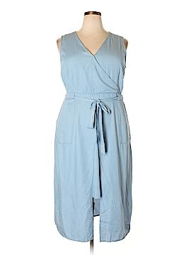 Modamix By Brandon Thomas Casual Dress Size 16 (Plus)