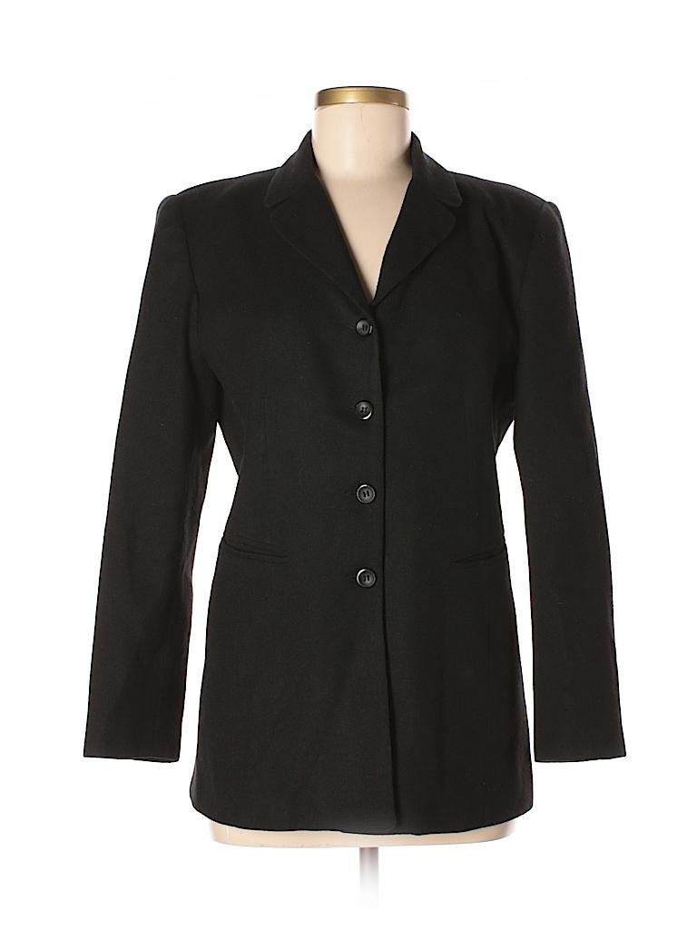 Norton McNaughton Women Wool Blazer Size 6