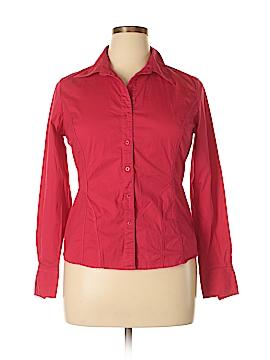 Chadwicks Long Sleeve Button-Down Shirt Size 14