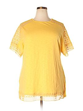 Hannah Short Sleeve Top Size 1X (Plus)