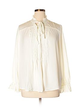 NANETTE Nanette Lepore Long Sleeve Blouse Size 1X (Plus)