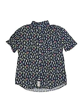 Abercrombie Short Sleeve Button-Down Shirt Size 15