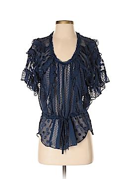 Rebecca Taylor Short Sleeve Blouse Size 4